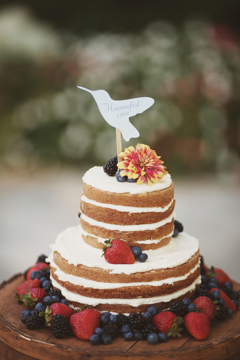 Fresh Fruit Wedding Cakes   Southern Living Garden Variety