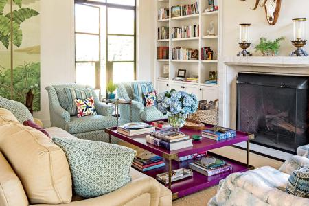 106 Living Room Decorating Ideas   Southern Living Living room in guest party house