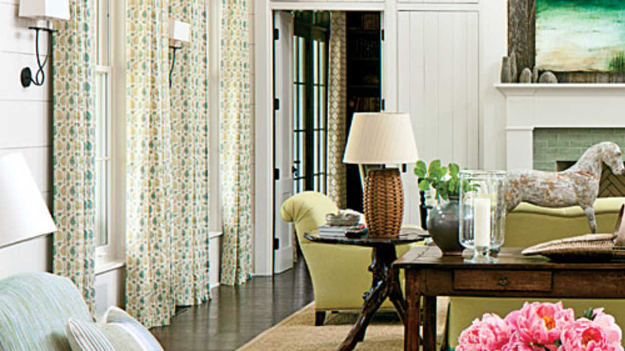 Placing Furniture On Area Rugs Southern Living