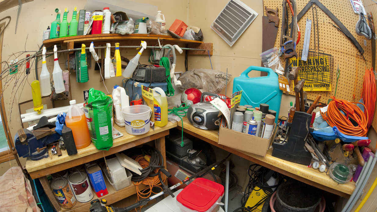 Never Store These Items In Your Attic Garage Or Basement
