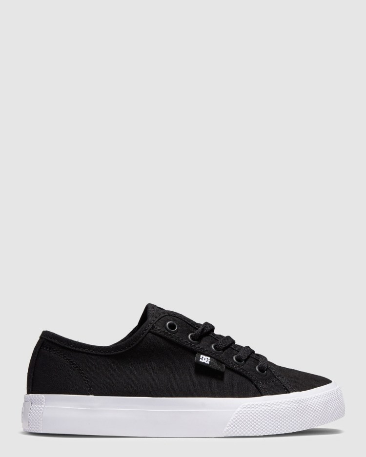 DC Shoes Youth Manual Shoe Sneakers Black/White