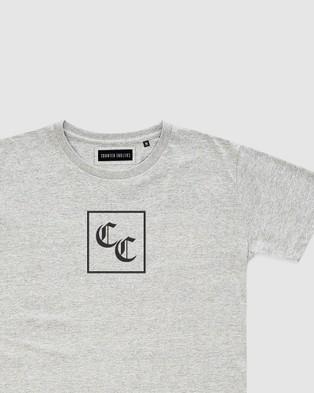 Counter Culture Celt Tee Teens T-Shirts & Singlets GREY