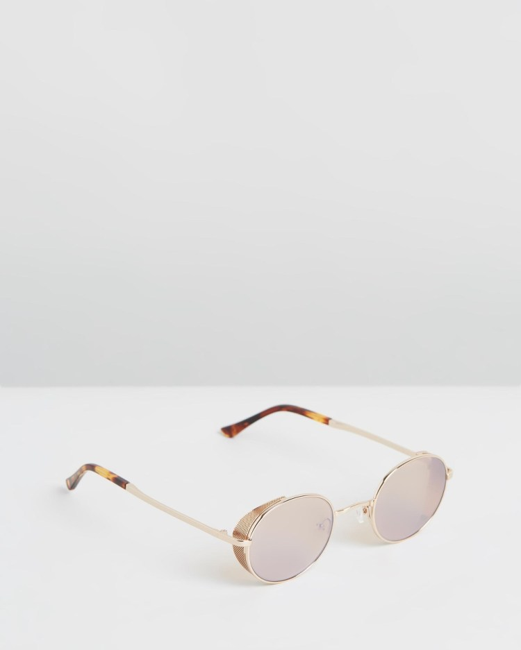 Amber Sceats Laurie Glasses Sunglasses Gold
