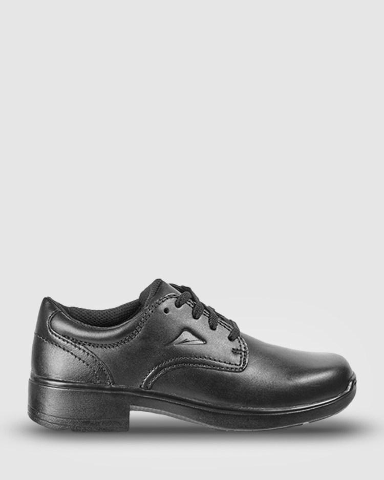 Ascent Adiva 2 B Width School Shoes Black