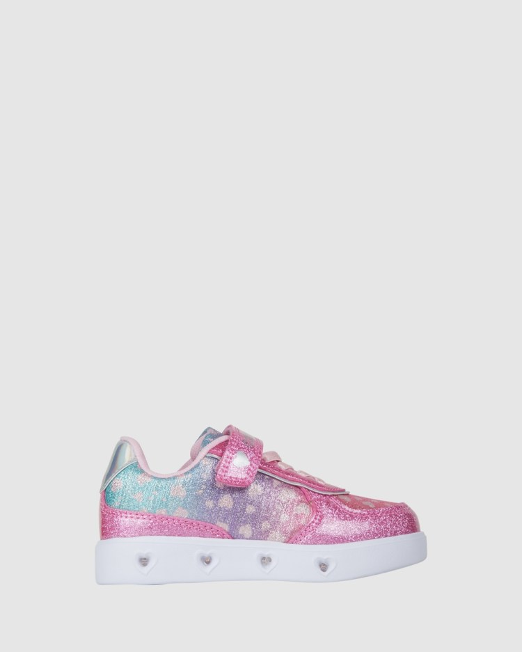 Candy Charley Hearts Sneakers Pink