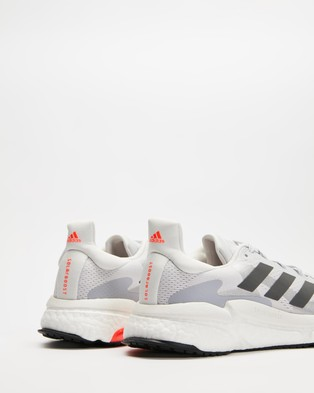adidas Performance Solar Boost 3 Women's Shoes Dash Grey, Grey Five & Red