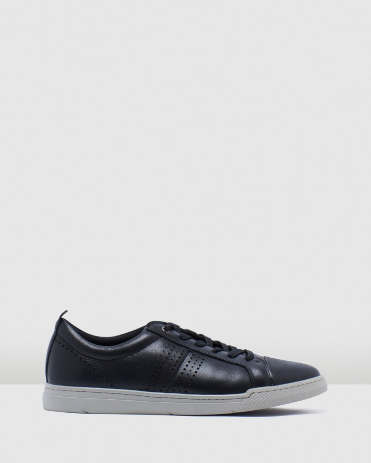 Julius Marlow Pitch Casual Shoes Black