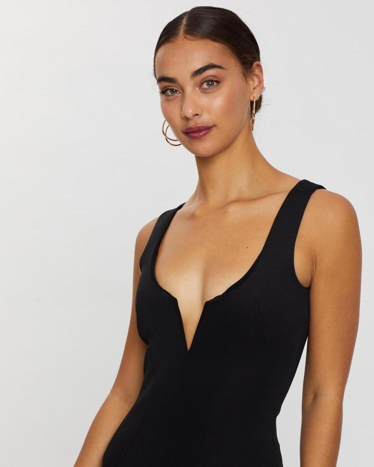 Loreta Voluptuous Dress Bodycon Dresses Black
