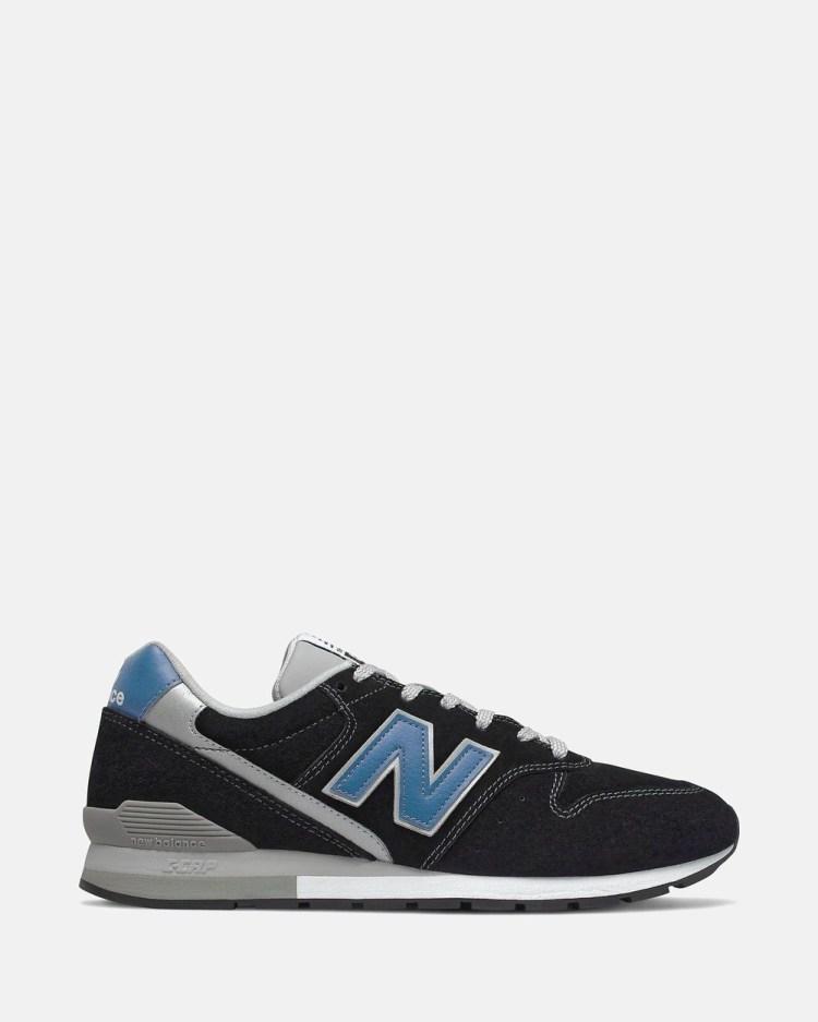 New Balance 996 Standard Fit Men's Lifestyle Sneakers Black & Blue