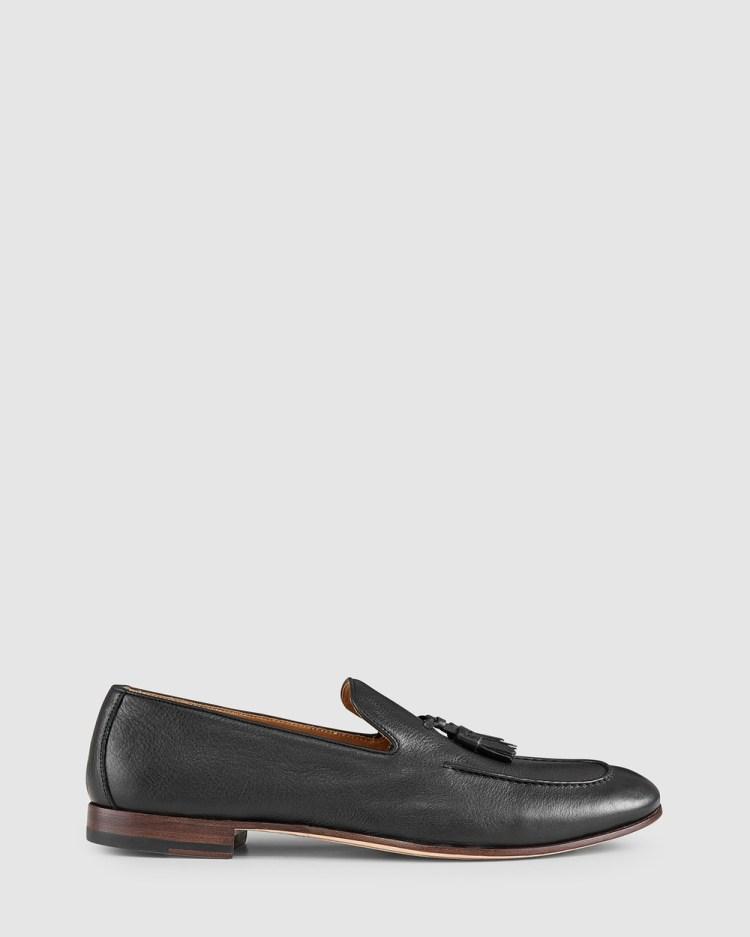 Aquila Alberto Loafers Flats Black