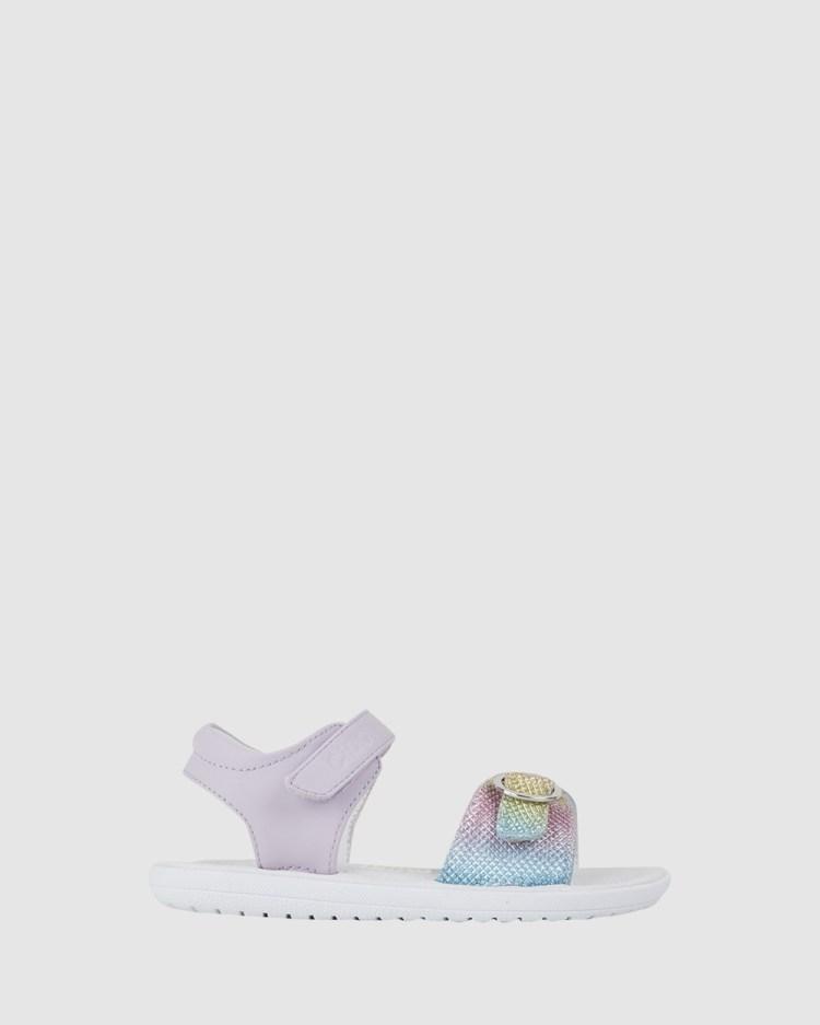 CIAO Hannah Sandals Lilac Rainbow
