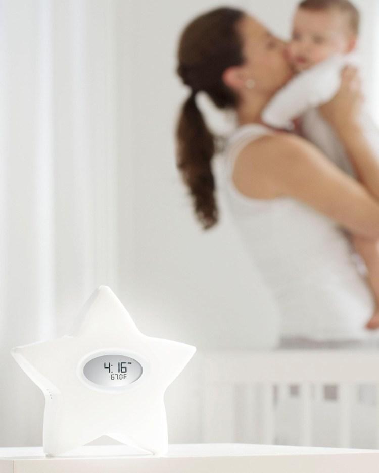 Aden & Anais Serenity Star Room Temperature Night Light Tech Accessories White