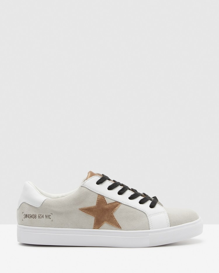 Steve Madden Theory Sneakers White