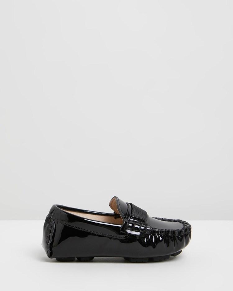 Oscars For Kids Sorento Loafers Babies Dress Shoes Black Babies-Kids