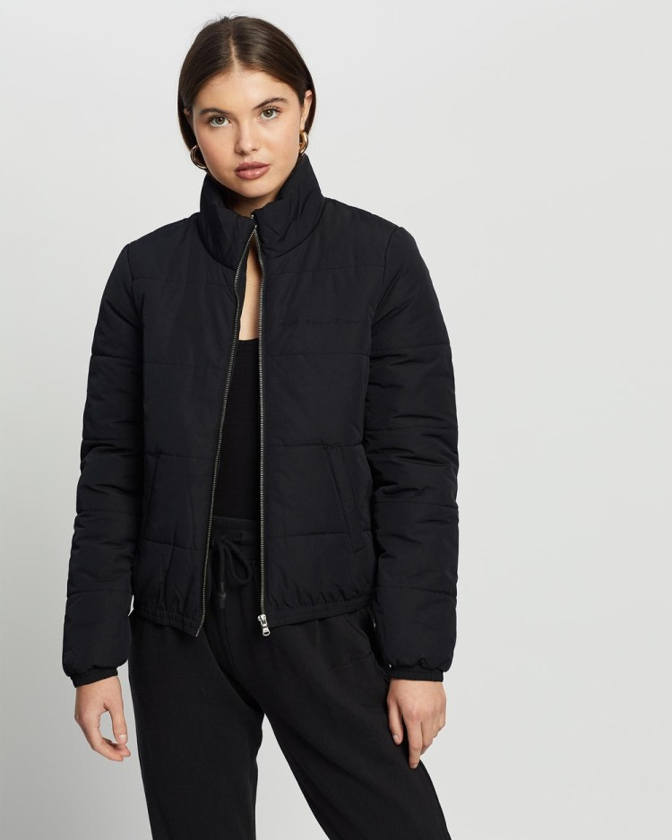 All About Eve Mila Puffer Jacket Coats & Jackets BLACK