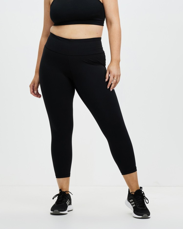 adidas Performance Plus Size Believe This Solid 7 8 Tights 7/8 Black 7-8