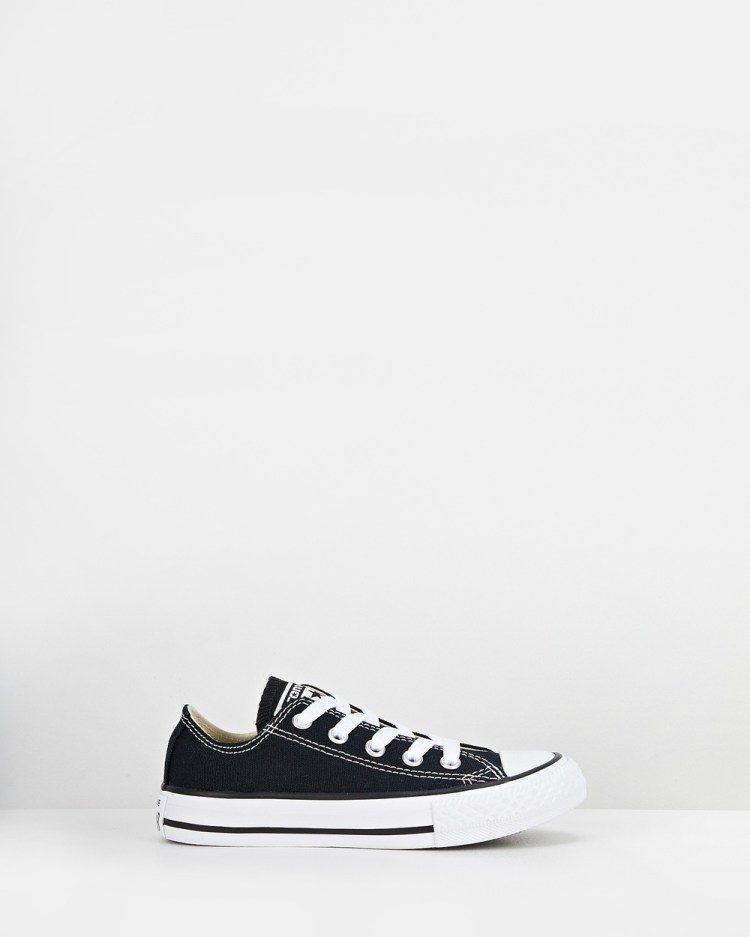 Converse Chuck Taylor All Star Ox Youth Lifestyle Shoes Black
