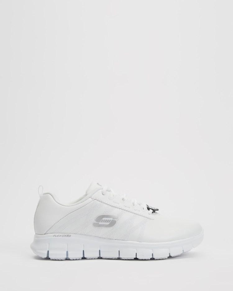Skechers Sure Track Erath Women's Walking White