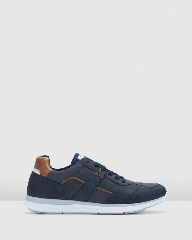 Julius Marlow Atilio Casual Shoes Navy
