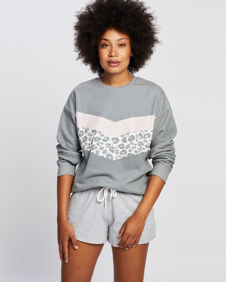All About Eve Wild Hearts Crew Necks PINK