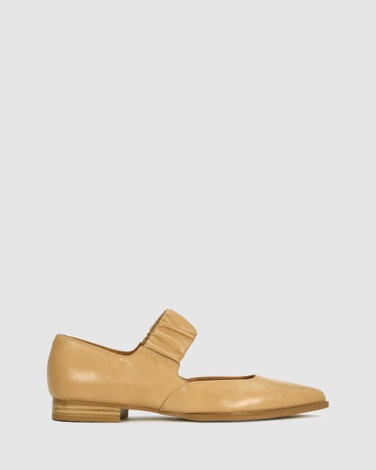 Eos Emali Ballet Flats Brown