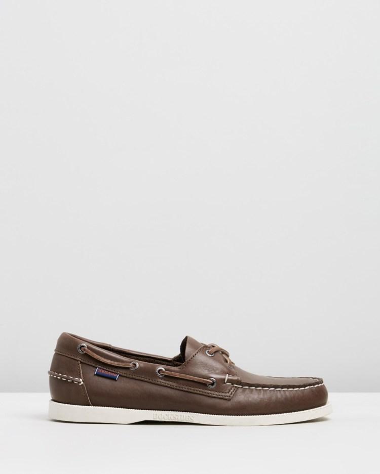 Sebago Docksides Casual Shoes Brown