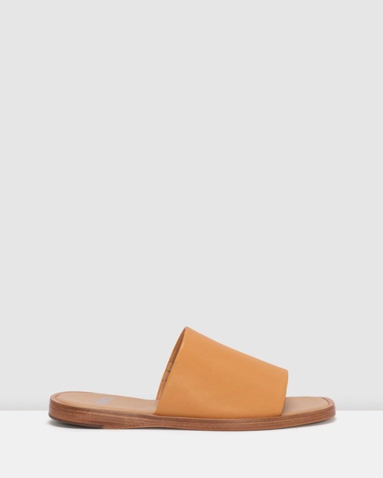 Rollie Alpha Slide Sandals Brown