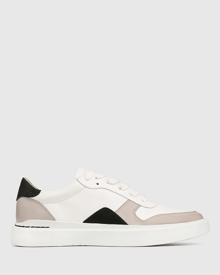 Wittner Slater Leather Sneakers Lifestyle White