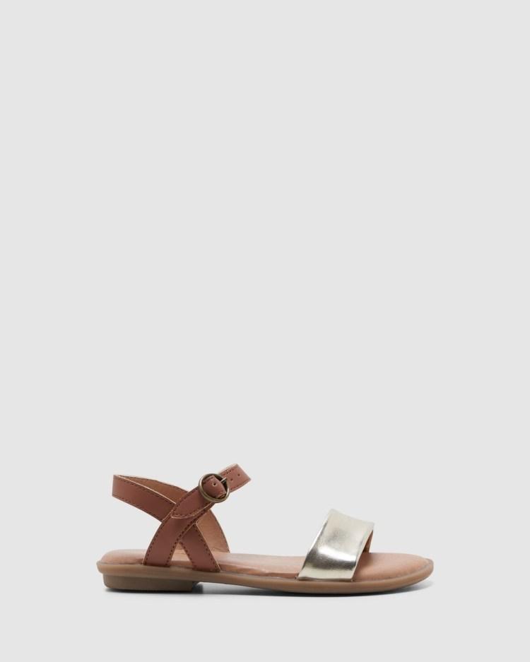 Clarks Harper IV Sandals Tan/Gold