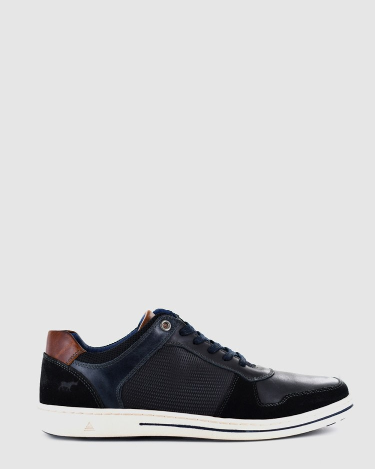 Wild Rhino Archer Casual Shoes Black