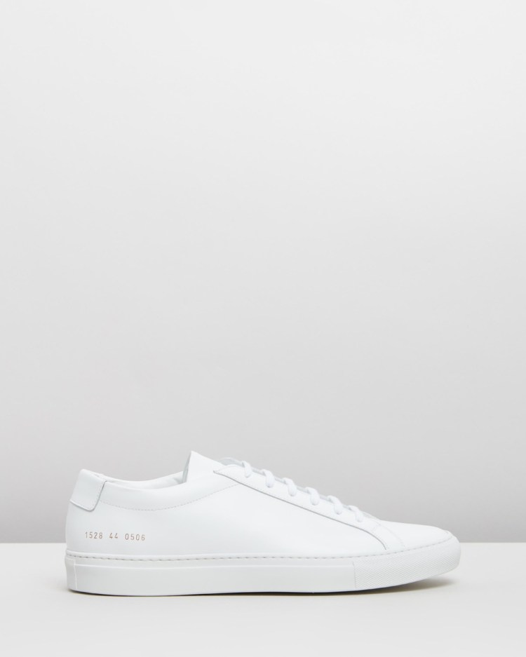 Common Projects Achilles Low Mens Sneakers White