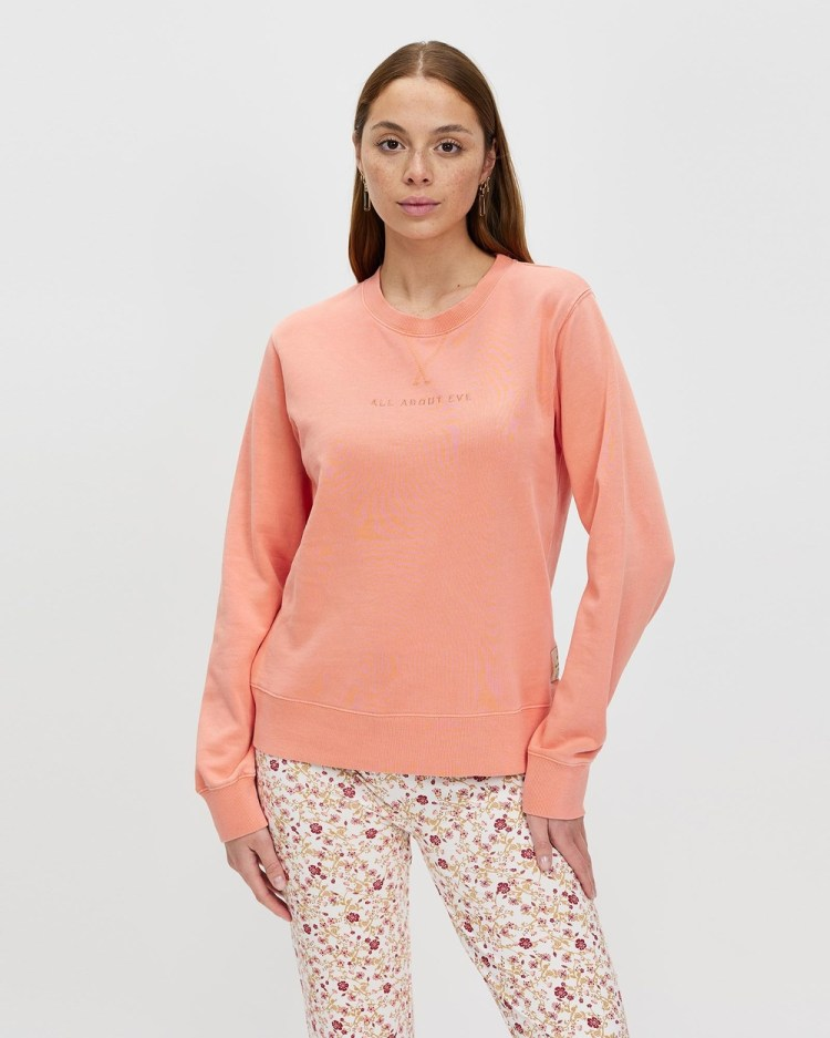 All About Eve Washed Crew Sweats All Crew
