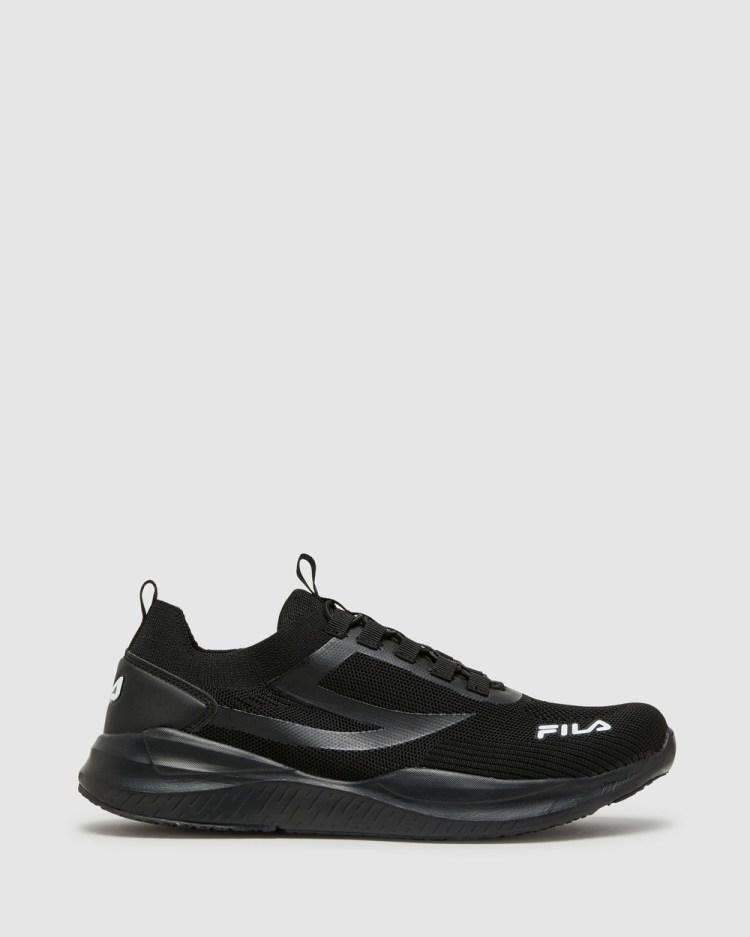 Fila Saluzzo Men's Performance Shoes Black