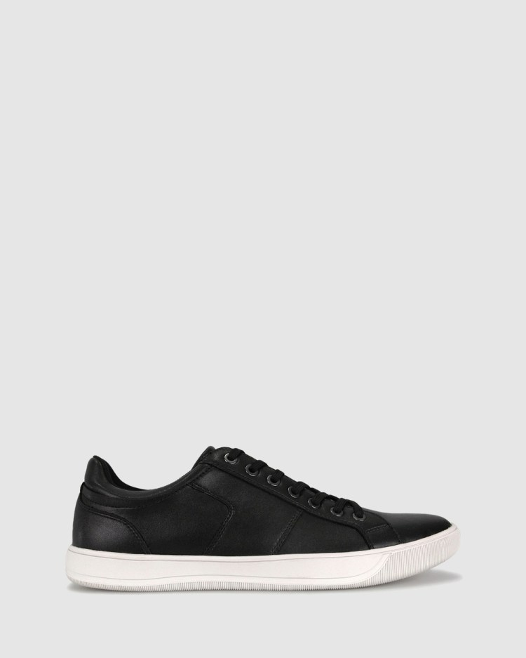 ZU Cable Casual Sneakers Shoes Black