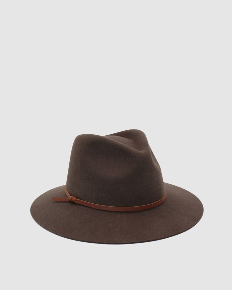 Ace Of Something Durango Fedora Hats Brown