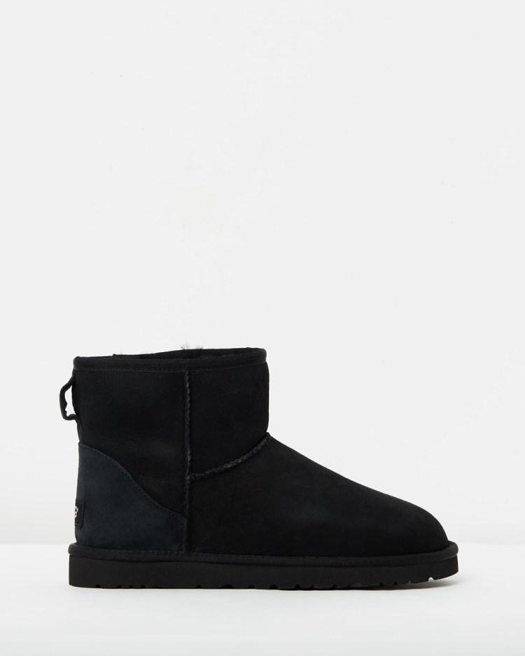 UGG Mens Classic Mini Boots Black