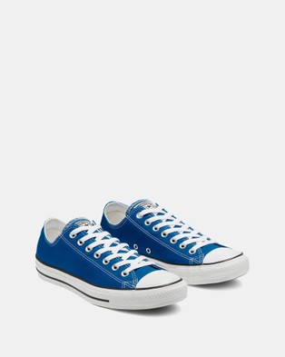 Converse Chuck Taylor All Star Low Unisex Top Sneakers Blue