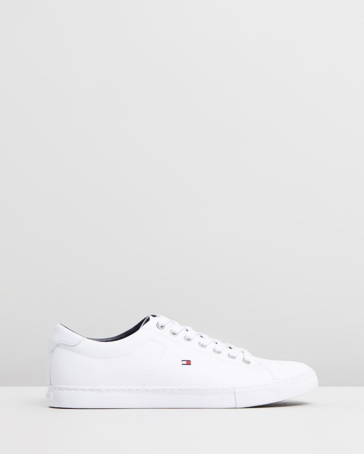 Tommy Hilfiger Essential Leather Sneakers White