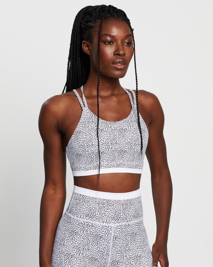 All Fenix Kyla Sports Bra Crop Tops White