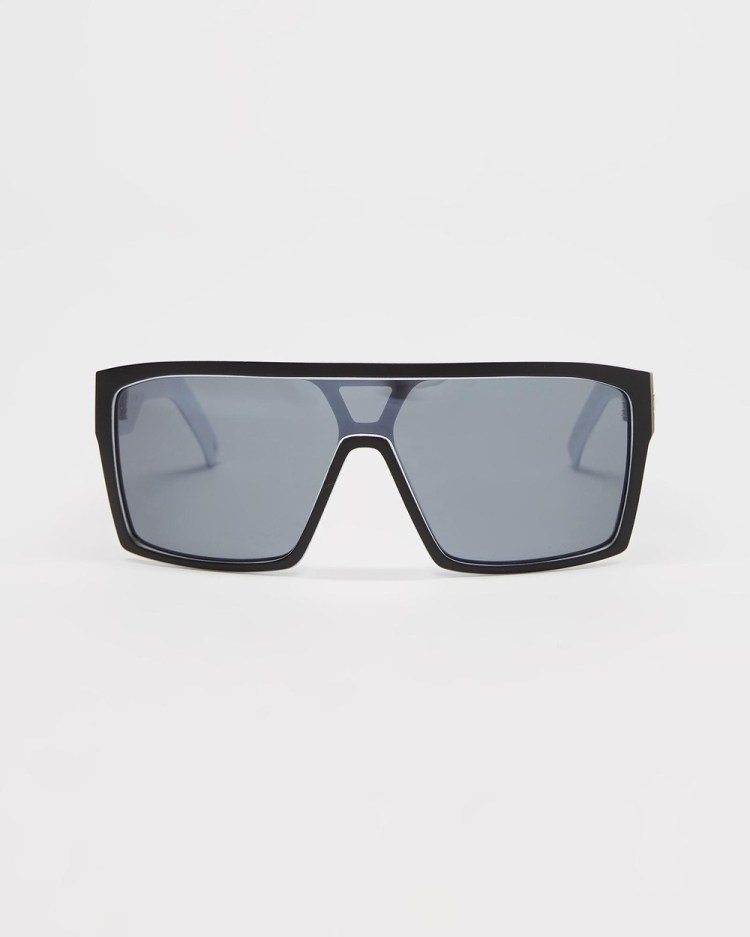 UNIT Command Polarised Sunglasses Black & White