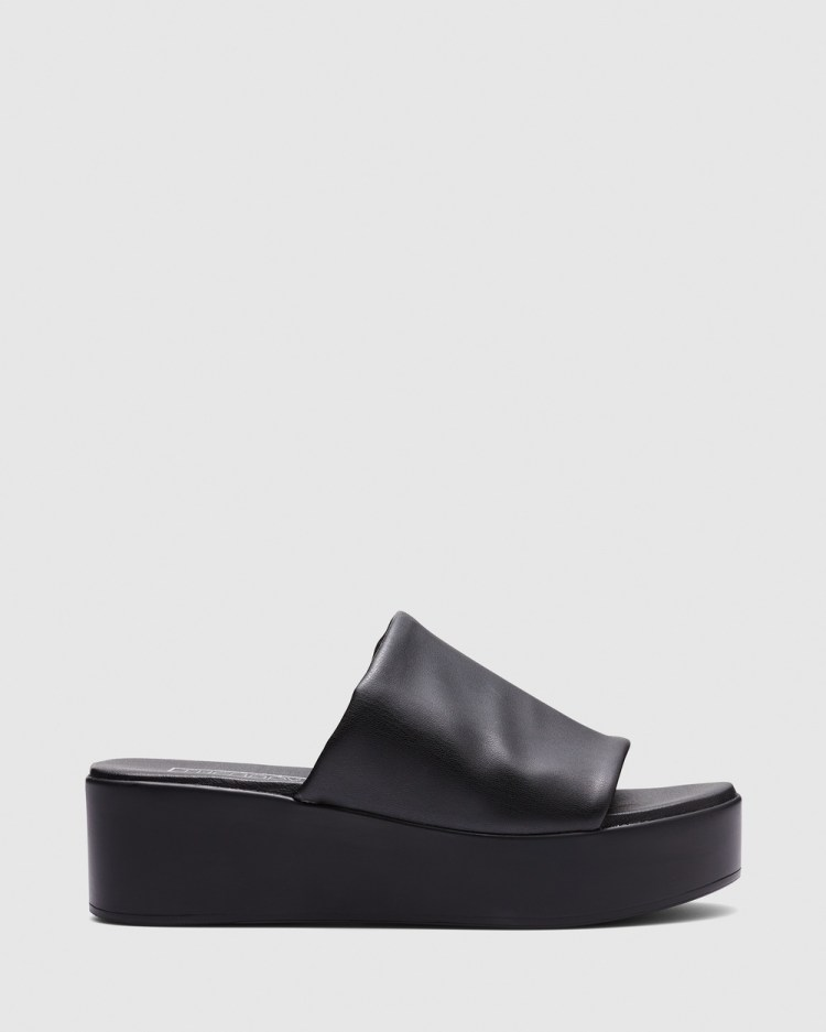 Therapy Livid Wedges Black