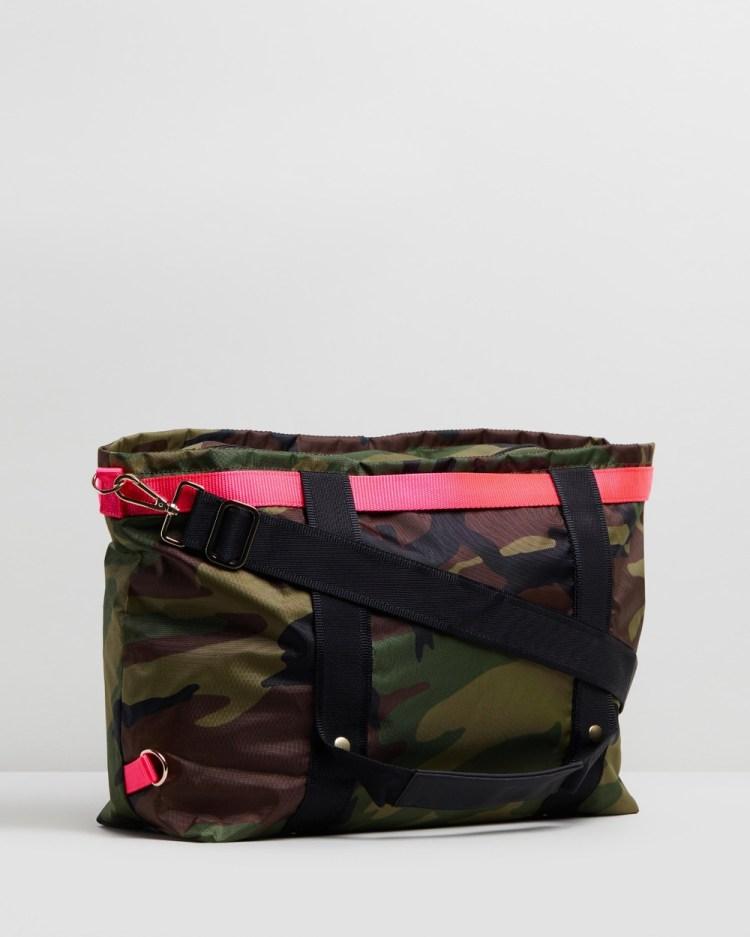 ANDI New York The Andi Backpacks Camo with Pink