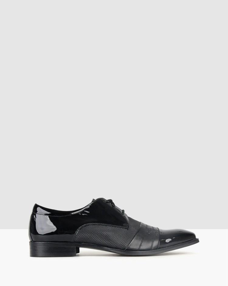 Betts Arlo Derby Dress Shoes Black