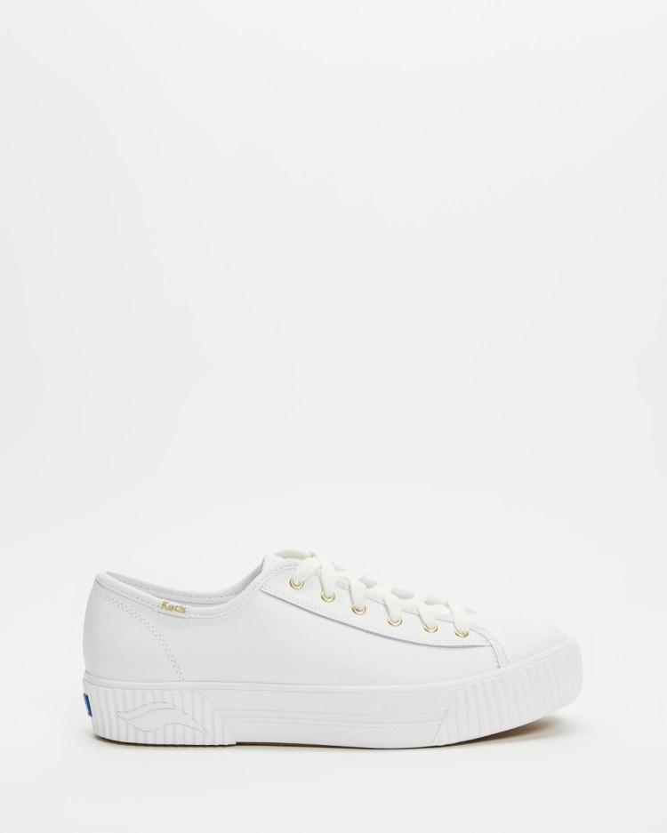 Keds Triple Kick Amp Super Sneakers White