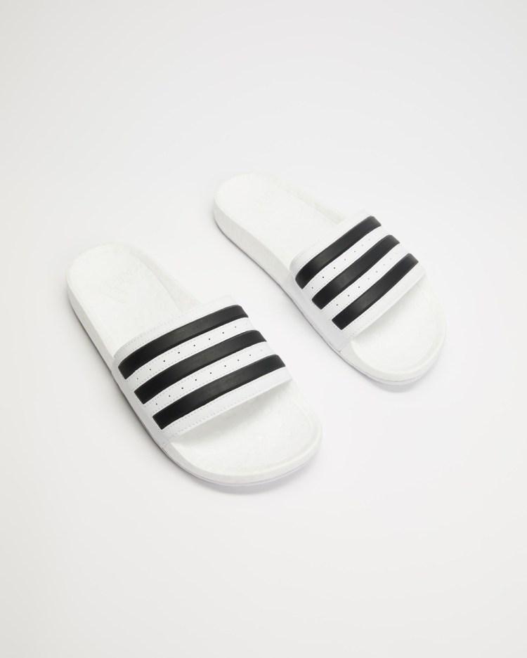 adidas Performance Adilette Boost Unisex Slides Cloud White & Core Black