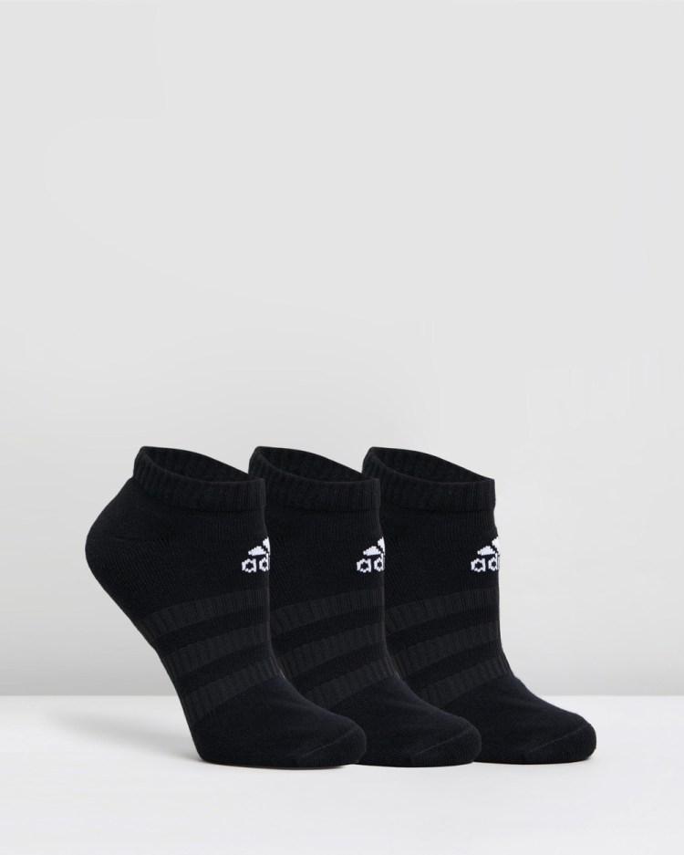 adidas Performance Cushion Low Socks 3 Pack Underwear & Black 3-Pack