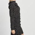MINKPINK - Elinor Mini Dress - Printed Dresses (Black & White) Elinor Mini Dress