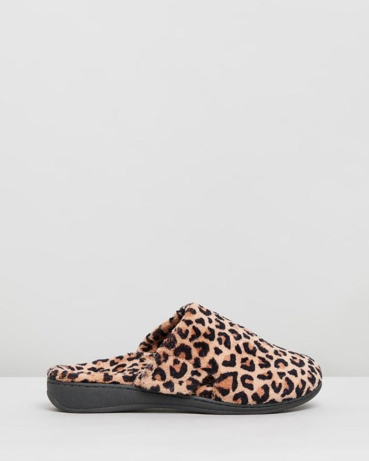 Vionic Gemma Mule Slippers & Accessories Natural Leopard