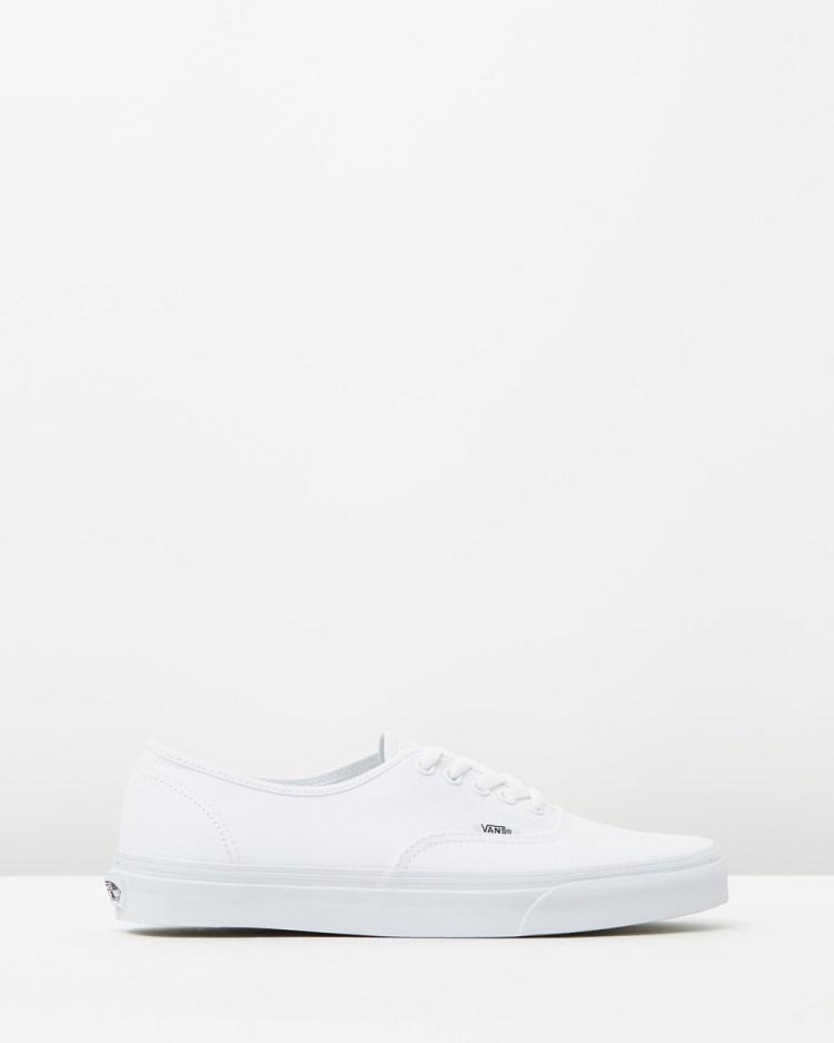 Vans Authentic Unisex Sneakers True White