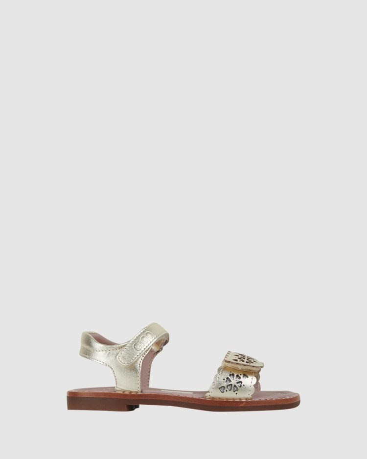 CIAO Willow Sandals Soft Gold